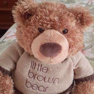 Gund for Bloomingdales little brown bear